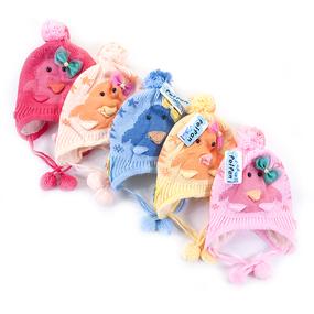 Шапка детская на меху 4 о/г 42-46 см разные расцветки фото