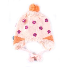 Шапка детская на меху 9 о/г 42-46 см разные расцветки фото