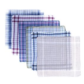 Платки носовые мужские 32х32 расцветки в ассортименте 10 шт фото