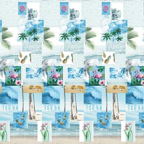 Бязь Премиум 220 см набивная Тейково рис 6920 вид 1 Парадайз фото