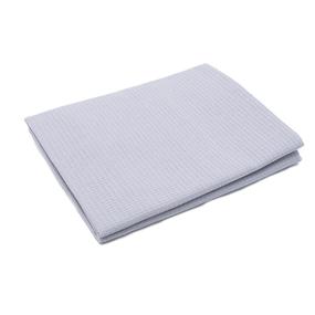 Полотенце вафельное банное 150/75 см цвет серый фото