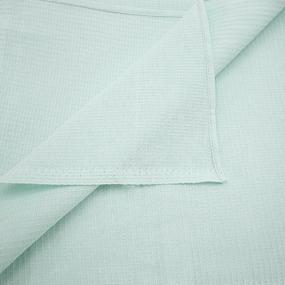 Полотенце вафельное банное 150/75 см цвет ментол фото