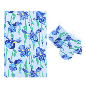 Набор вафельный - полотенце/рукавичка/прихватка вид 6 фото
