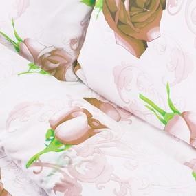 Постельное белье бязь эконом 3152/2 персик 2-х сп фото
