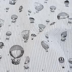 Комплект простыня 1.5 сп + 1 нав. 50/70 перкаль 6591 вид 1 Воздушные шары фото