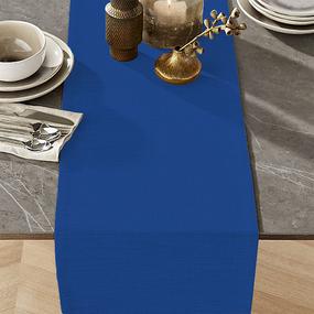 Ткань на отрез дорожка 50 см 35029/3 цвет синий фото