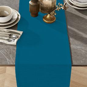 Ткань на отрез дорожка 50 см 35029/1 цвет бирюза фото