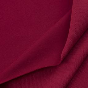 Ткань на отрез футер с лайкрой 1706-1 цвет красный фото