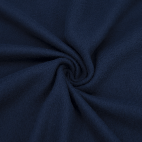 Ткань на отрез флис цвет Темно-синий фото