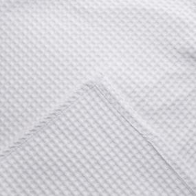 Набор для сауны вафельный женский 3 предмета цвет белый фото