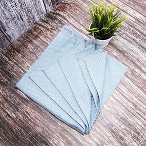 Набор для сауны вафельный мужской 2 предмета цвет 952 серый фото