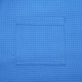 Набор для сауны вафельный мужской 2 предмета цвет 556-3 василек фото