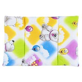 Подушка для новорожденных набивная 40/60 разные цвета фото