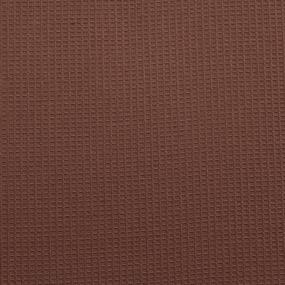 Вафельное полотно гладкокрашенное 150 см 165 гр/м2 цвет шоколад фото