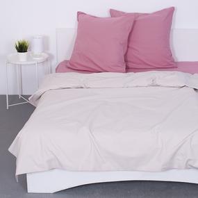 Постельное белье из поплина Лен 2-х сп с евро простыней фото