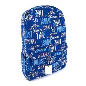 Школьный рюкзак 2046 цвет синий фото