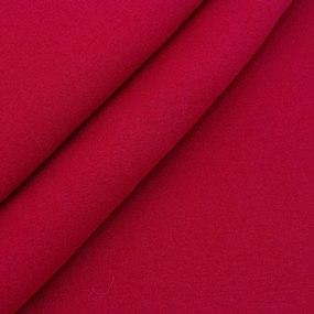 Ткань на отрез футер 3-х нитка компакт пенье начес цвет красный фото