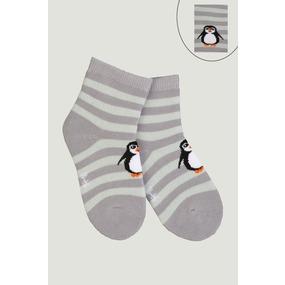 Носки Пингвин детские плюш 4794 р 12-14 фото