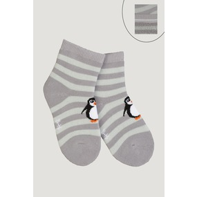 Носки Пингвин детские плюш 4794 р 14-16 фото