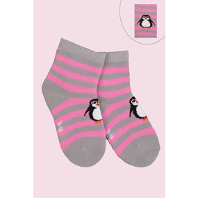 Носки Пингвин детские плюш 4794 р 16-18 фото