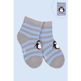 Носки Пингвин детские плюш 4794 р 18-20 фото