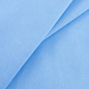 Мерный лоскут бязь гладкокрашеная ГОСТ 150 см цвет голубой 3.9 м фото