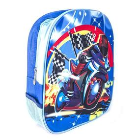 Детский рюкзак №606 Speed Boy 3D расцветки в ассортименте фото