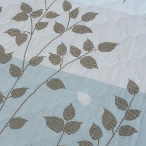Покрывало стеганое Эстель 643-1 серый 150/210 фото