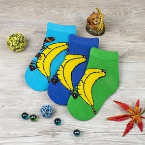 Носки Банан детские р 14-16 фото