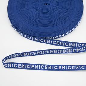 Тесьма NICE синий 1см 1 метр фото