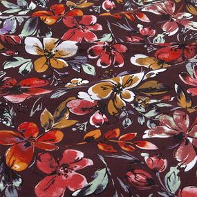 Ткань на отрез бязь плательная 150 см 11342/1 Самба фото
