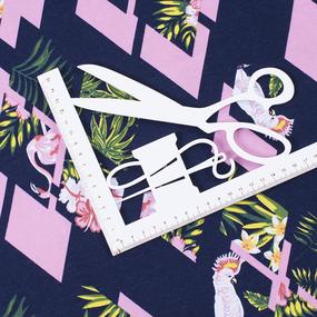 Ткань на отрез кулирка R8078-V3 Тропики фото