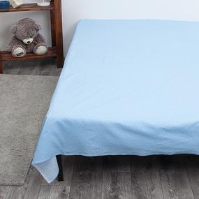 Простынь бязь 11762/1 Голубая лагуна компаньон Евро фото