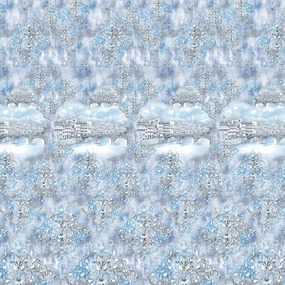 Перкаль 220 см набивной арт 239 Тейково рис 6649 вид 1 Риальто фото