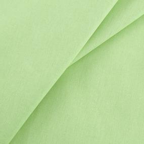 Мерный лоскут бязь гладкокрашеная ГОСТ 150 см цвет салатовый фото