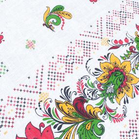 Фартук кухонный из вафельной ткани 241 цвет белый фото