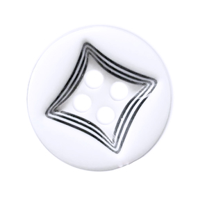 Пуговицы Рубашка 4-х пр 13 мм цвет 434/4 упаковка 24 шт фото
