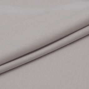 Ткань на отрез поплин гладкокрашеный 115 гр/м2 220 см цвет лен фото