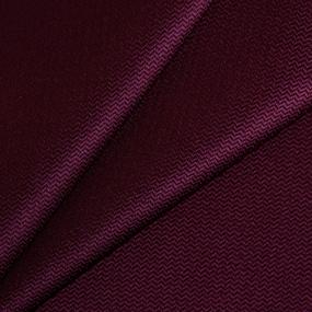Ткань на отрез креп-сатин цвет бордовый фото