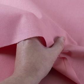 Ткань на отрез бязь М/л Шуя 150 см 13010 цвет роза фото