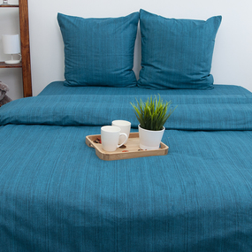 Пододеяльник из перкаля 2049314 Эко 14 зеленый, 2-x спальный фото
