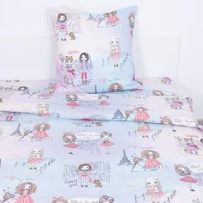 Детское постельное белье 13060/1 Маленькие модницы 1.5 сп перкаль фото