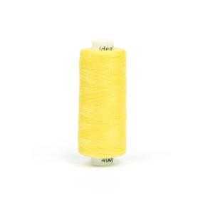 Нитки бытовые IDEAL 40/2 366м 100% п/э, цв.131 желтый фото