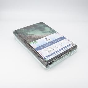 Постельное белье из бязи 11631/1 Сила Сибири 2-х сп с евро простыней фото