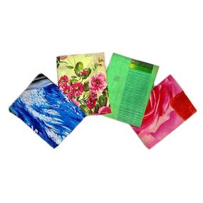 Наволочка бязь набивная 120 гр/м2 упаковка 2 шт 60/60 расцветки в ассортименте уценка фото