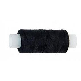 Нитки швейные 45ЛЛ 200м цвет 6818 черный фото