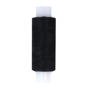 Нитки швейные 45ЛЛ 2500м цвет черный фото