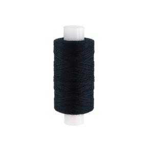 Нитки швейные 70ЛЛ 200м цвет 6818 черный фото