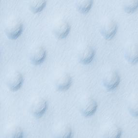 Мерный лоскут Плюш Минки Китай 180 см/75 см цвет голубой фото