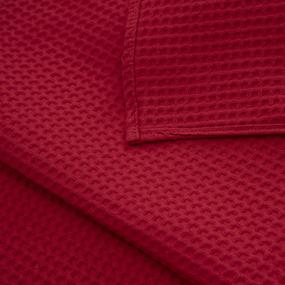 Полотенце вафельное банное Премиум 150/75 см цвет 043 коралловый фото
